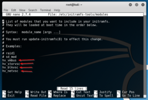 Install Integration Services on Kali Linux