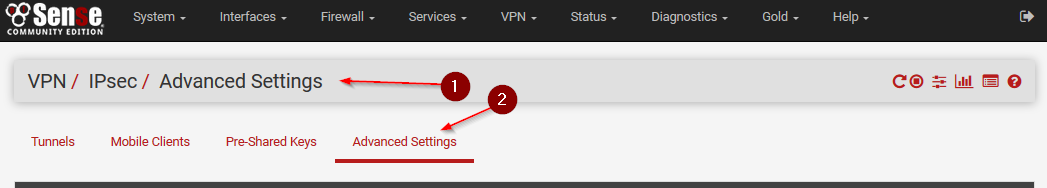 Site to Site VPN between pfSense and AWS VPC - Ceos3c