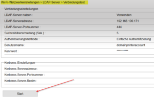 LDAP Connection Test