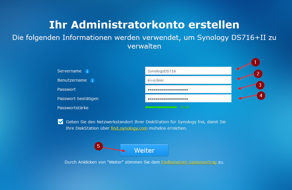 Synology DS 716+ II Basic Installation - Ceos3c
