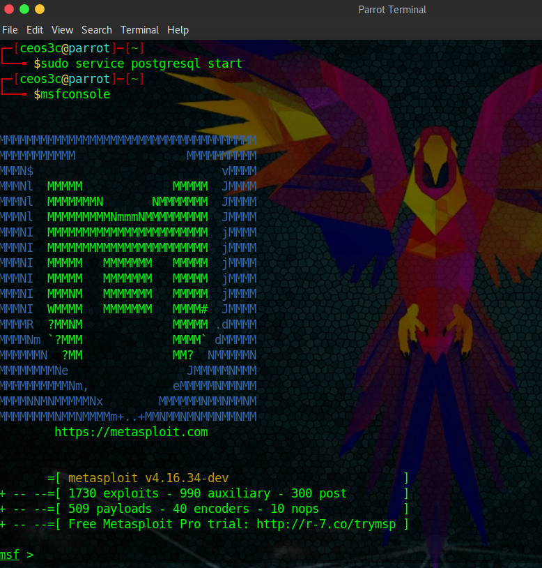 Hacking with Metasploit: Basic Commands - Ceos3c