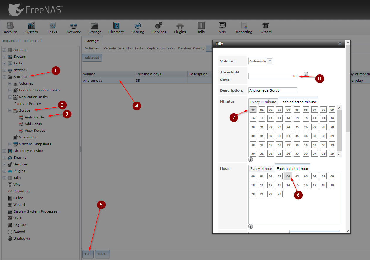 FreeNAS Essentials: How to set up SMART Tests and Scrubs