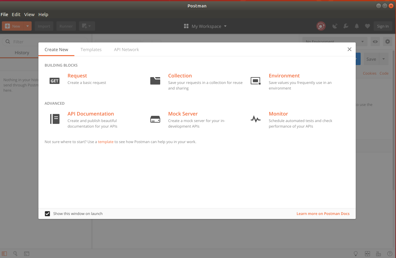 download postman app for linux