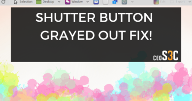Shutter Edit Button Greyed Out Fix for Ubuntu 18.04 / Mint 19