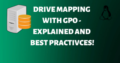 Drive Mapping with GPO