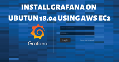 Install Grafana on Ubuntu 18.04 using AWS EC2