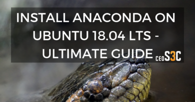 Install Anaconda Ubuntu 18.04 LTS: Complete Step-by-Step
