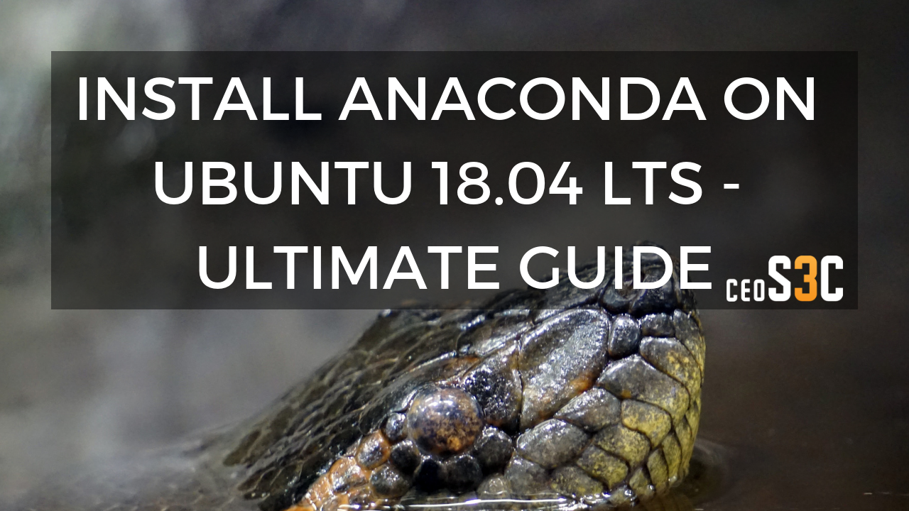 install anaconda debian 9