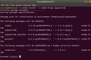 Install Jupyterlab on Ubuntu