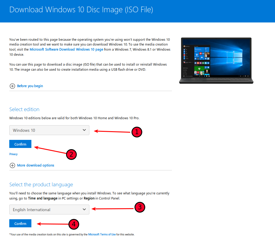 install windows 10 from iso on linux