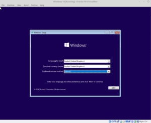 Install Windows 10 on Linux