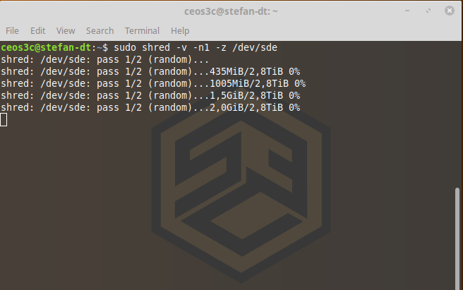 Overwrite Hard Drive with Zeros on Linux: Fast & Easy! - Ceos3c