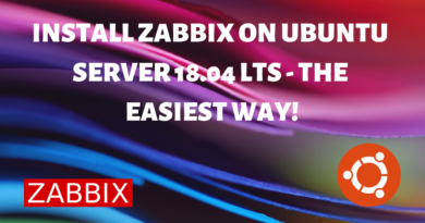 Install Zabbix on Ubuntu 18.04: Easiest & Fastest Way!