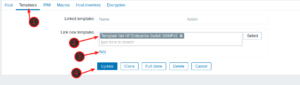 Monitor a HP Switch with Zabbix