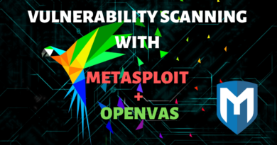 Vulnerability Scanning With Metasploit