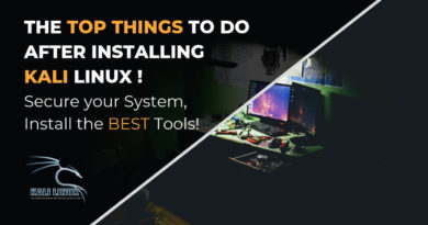 Top Things to do after Installing Kali Linux in 2020!