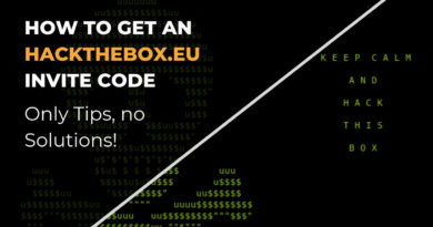 How to get an Hackthebox Invite Code (Tips Only!)