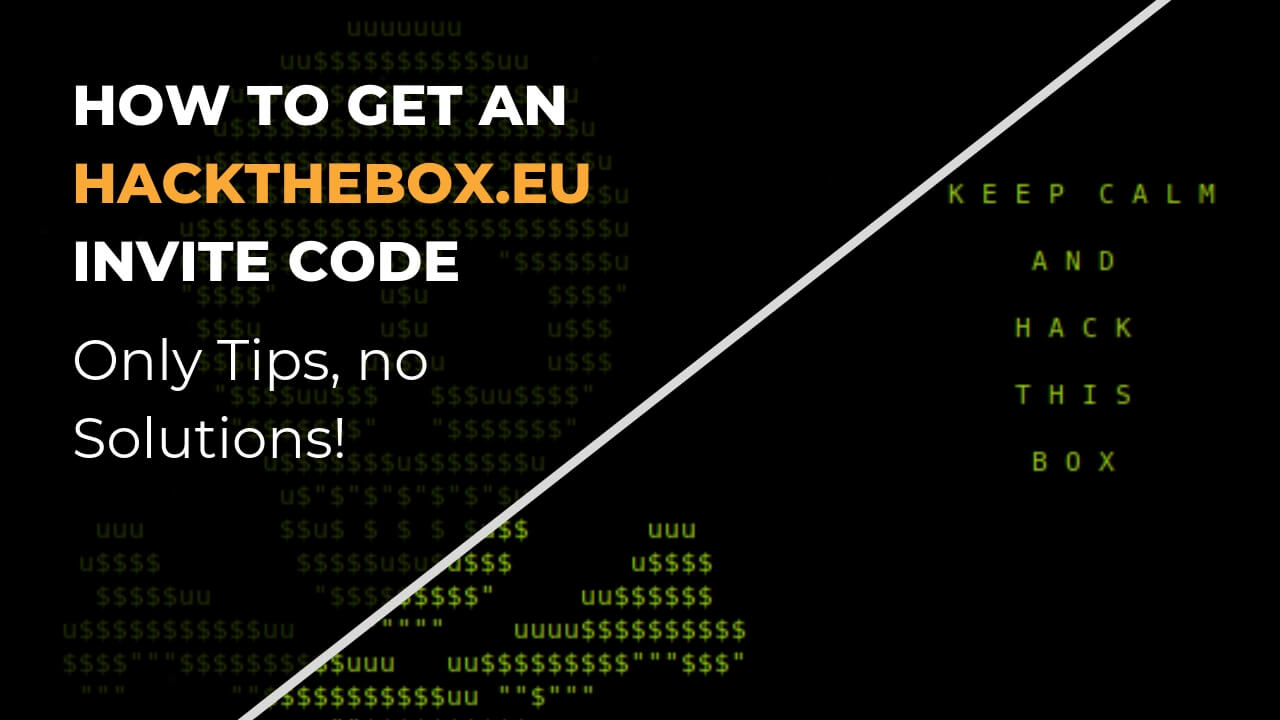 How to get an Hackthebox Invite Code (Tips Only!) - Ceos3c