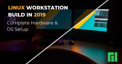 Linux Workstation Build in 2019
