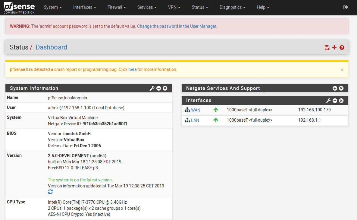 How to install pfSense 2 5 & Feature Overview - Ceos3c