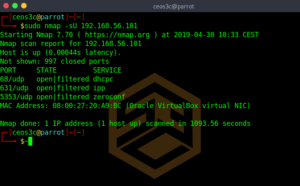 Advanced Nmap Commands
