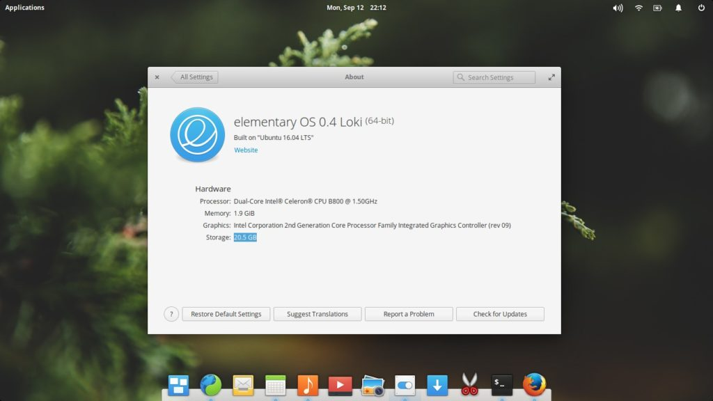 Linux Distro Elementary OS
