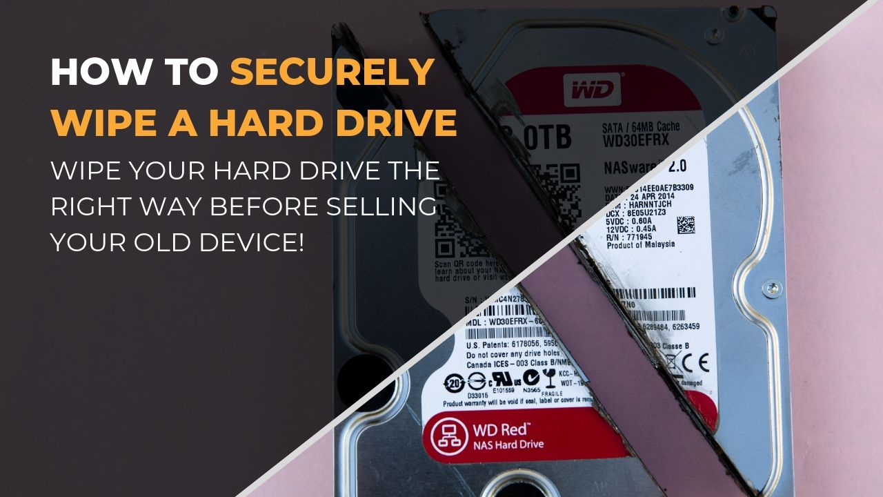How to Securely wipe a hard drive