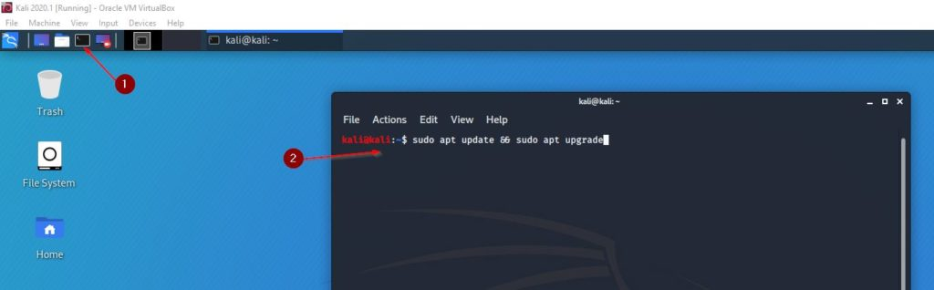 Install Kali Linux 2020.1 on VirtualBox