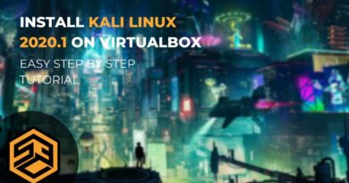 How to install Kali Linux 2020.1 on VirtualBox – Step by Step