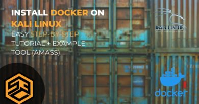 Install Docker on Kali Linux