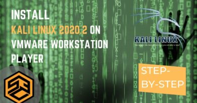 Install Kali Linux 2020.2 on VMWare Workstation Player – Step by Step