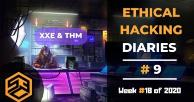 Ethical Hacking Diaries #9 – Blind XXE & TryHackMe
