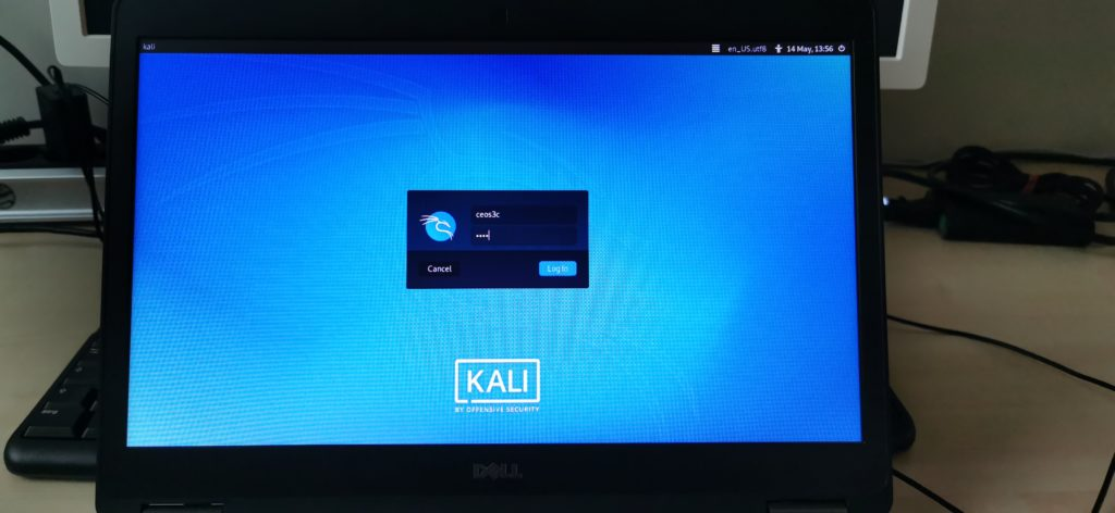 Booting Up Kali Linux