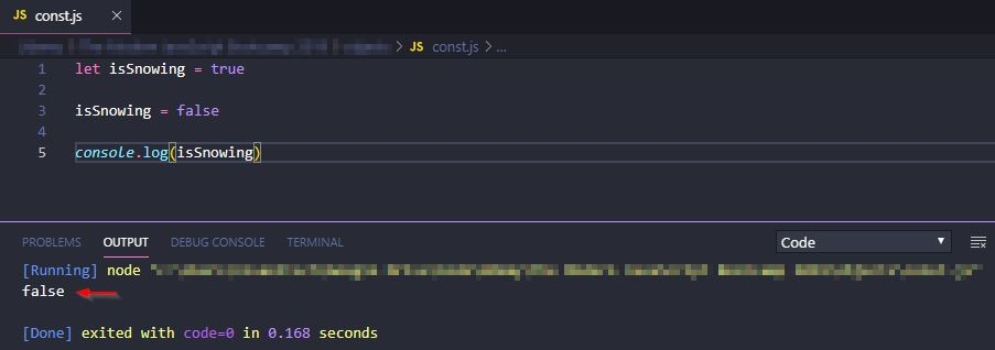 The Difference between Let and Const in JavaScript