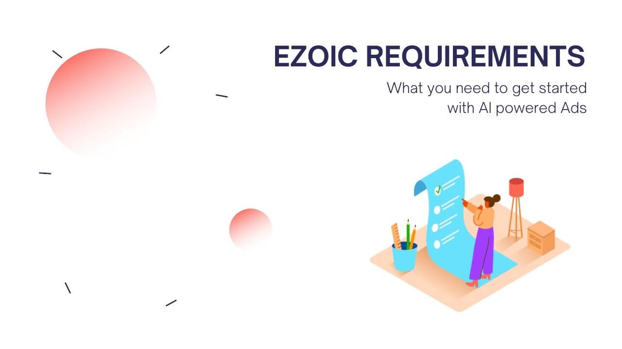 Ezoic Requirements Featured Image